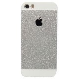 SAGA CASE ID Glitter Jelly iPhone 5S - Silver - Casing Handphone / Case