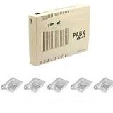 SAHITEL PBX PB308 + S71 (5 unit) - Pabx