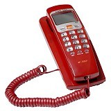 SAHITEL S37 - Red Black - Corded Phone