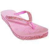 SAKIA Sandiego Wedges Sandal Size 39 - Pink - Wedges Wanita