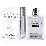 SALVATORE FERRAGAMO Acqua Essenziale Colonia For Men EDT 100 ml (Merchant) - Eau De Toilette untuk Pria