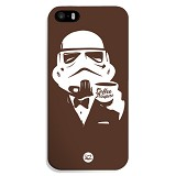 SAMAKOPI Apple iPhone 5s Case Coffee Trooper - Casing Handphone / Case