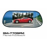 SAMISE Car LED Monitor [SM-770SPM] (Merchant) - Audio Video Mobil