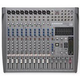 SAMSON 12-Channel/4-Bus Professional Mixing Console [L1200] - Mixer Live / Stage