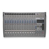 SAMSON 20-Channel/4-Bus Professional Mixing Console [L2000] - Mixer Recording / Studio