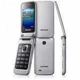SAMSUNG Citrus [GT-C3520] - Metalic Silver - Handphone Gsm