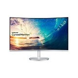 SAMSUNG Curved LED Monitor 27 Inch [LC27F591FDEXXD] - Monitor Led Above 20 Inch