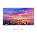 SAMSUNG Curved LED Monitor 32 Inch [C32F391FWE] - Monitor Led Above 20 Inch