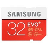 SAMSUNG Evo Plus MicroSDHC UHS-I Class 10 32GB with SD Adapter (Merchant) - Micro Secure Digital / Micro Sd Card