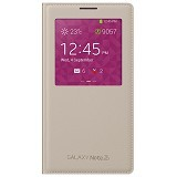 SAMSUNG Galaxy Note 3 S View Cover - Oatmeal Beige - Casing Handphone / Case