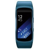 SAMSUNG Gear Fit2 Long Strap [SM-R3600ZBAXSE] - Blue - Smart Watches