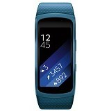 SAMSUNG Gear Fit2 Short Strap [SM-R3600DANXSE] - Blue (Merchant) - Smart Watches