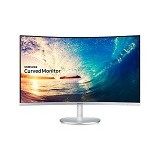 SAMSUNG LED Monitor Curved 27 Inch [C27F591FDE] - Monitor Led Above 20 Inch