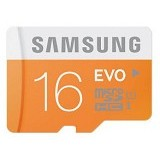 SAMSUNG Micro SDHC UHS1 Class-10 EVO 16GB - Micro Secure Digital / Micro SD Card