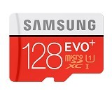 SAMSUNG MicroSD EVO PLUS UHS-I Card 128GB with SD Adapter (Merchant) - Micro Secure Digital / Micro Sd Card