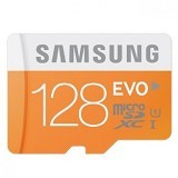 SAMSUNG MicroSDHC EVO Class 10 128gb with SDHC Adapter (Merchant) - Micro Secure Digital / Micro Sd Card