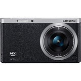 SAMSUNG Mirrorless Digital Camera NX Mini [NFX1] - Black - Camera Mirrorless