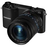 SAMSUNG Mirrorless Digital Camera NX2000 Kit1 - Black - Camera Mirrorless