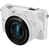 SAMSUNG Mirrorless Digital Camera NX2000 Kit1 - White - Camera Mirrorless