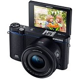 SAMSUNG Mirrorless Digital Camera NX3300 - Hitam - Camera Mirrorless