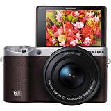 SAMSUNG Mirrorless Digital Camera NX500 - Brown - Camera Mirrorless