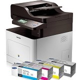 SAMSUNG Paket Printer 1 - CLX-6260FW/XSS Plus 12 Toner 506L - Printer Bisnis Multifunction Laser