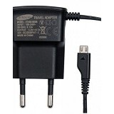 SAMSUNG Travel Adapter for Samsung Galaxy - Black - Charger Handphone