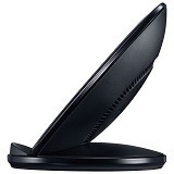 SAMSUNG Wireless Standing Charging Pad - Black (Merchant) - Charger Handphone