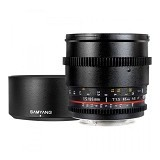 SAMYANG 85mm T1.5 AS IF UMC VDSLR for Sony Nex (Merchant) - Camera Slr Lens