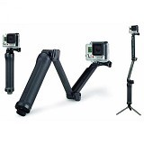 SAN TECH 3 Way Foldable Extension Tripod for Action Camera (Merchant) - Monopod and Unipod