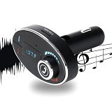 SAN TECH Bluetooth Car FM Transmitters with Call Function (Merchant) - Car Audio System