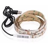 SAN TECH Mood Light LED Strip 5050 RGB 1M with USB Controller (Merchant) - USB LED Light