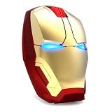 SAN TECH TaffWare Wireless Iron Man Style Optical Mouse Silent Click 2.4Ghz (Merchant) - Mouse Mobile