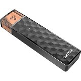 SANDISK Connect Wireless Stick 64GB - Black (Merchant) - Usb Flash Disk / Drive Stylish
