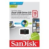 SANDISK Ultra 16GB [USBOTG] - Usb Flash Disk Dual Drive / Otg