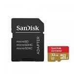 SANDISK Extreme microSDHC Card UHS-I 3 Class 10 32GB (Merchant) - Micro Secure Digital / Micro Sd Card