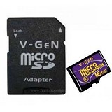 V-GEN Micro SD 16GB Turbo Class 10 (Merchant) - Micro Secure Digital / Micro Sd Card