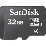 SANDISK Micro SDHC 32GB [SDSDQM] - Micro Secure Digital / Micro Sd Card