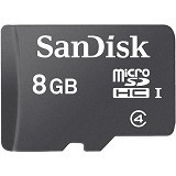SANDISK Micro SDHC 8GB [SDSDQM] - Micro Secure Digital / Micro SD Card