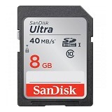 SANDISK Ultra SDHC UHS-I 8GB - Secure Digital / Sd Card