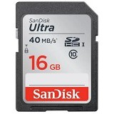 SANDISK Ultra SDHC 16GB Class 10 - Secure Digital / Sd Card