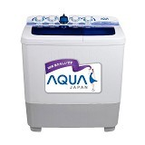 SANYO Aqua Mesin Cuci Twin Tub [QW-1030XT] (Merchant) - Mesin Cuci Twin Tub