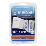 SANYO Eneloop 2hr Quick Charger + BP-2 - Battery and Rechargeable