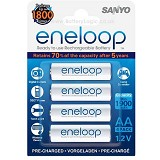 SANYO Eneloop AAA BP-4 - Battery and Rechargeable
