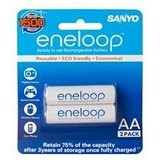 SANYO Eneloop Battery AA 2Pcs 2000mAh - Battery and Rechargeable