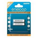 SANYO Eneloop Battery AAA 2Pcs 2000mAh - Battery and Rechargeable
