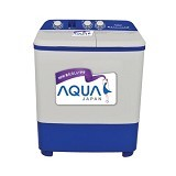SANYO Mesin Cuci Twin Tub Aqua [QW771XT] - Mesin Cuci Twin Tub