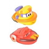 SASSY Harbor Town Squirter Set Captain Tugs - Baby Bath Toy