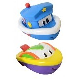 SASSY Harbor Town Squirter Set Riff Bandit - Baby Bath Toy