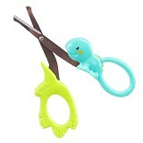 SASSY Soft Grip Scissors - Gunting Kuku Bayi